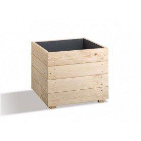 Jardinera de madera Essencia cuadrada 40