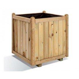 Jardinera de madera cuadrada Vendome 40