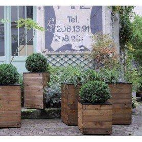 Jardinera de madera Collectors