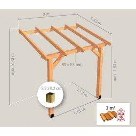 Tejadillo de madera ABS2015