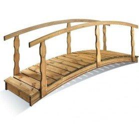 Puente de madera Quebec grande