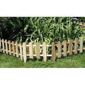 Bordura Mini-valla madera impregnada