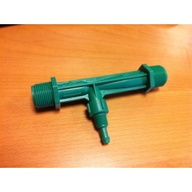 Dosificador Mazzei 1/2 Verde PP