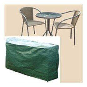 B312 Funda Set Cafe 2 sillas 145x70x78 cms
