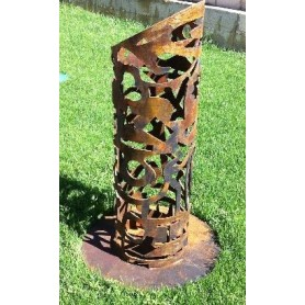 Escultura acero corten FORMAS