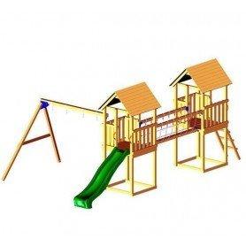 Parque infantil Blue Rabbit Apeninos