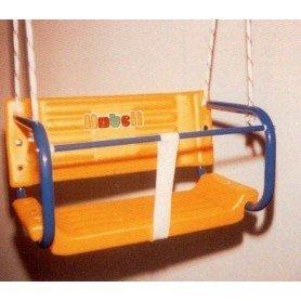 Asiento con cuerdas con respaldo