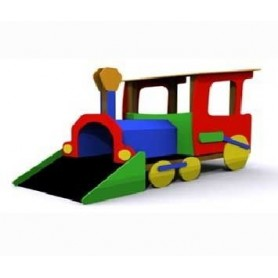 El tren minero (locomotora)