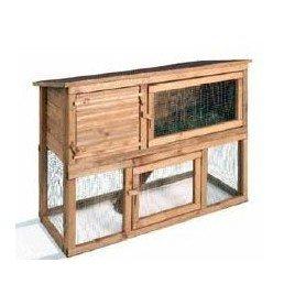 Caseta conejos madera Mezzanine