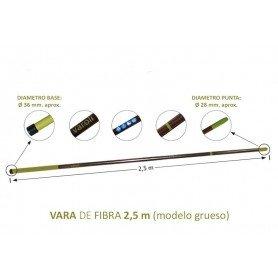 Vara vareador Varoli 250cm de fibra de vidrio