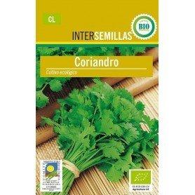 Semillas ecologicas cilantro 7g
