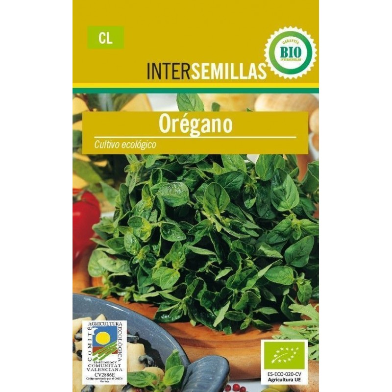 Semillas ecologicas oregano 0,1 g