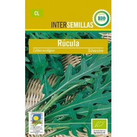 Semillas ecologicas rucula silvestre 3 g