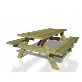 Mesa picnic modelo Ruby