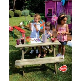 Mesa picnic infantil Wapiti