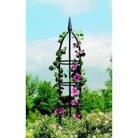 Obelisco de jardín tradicional