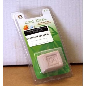 Bloque mineral para pajaros