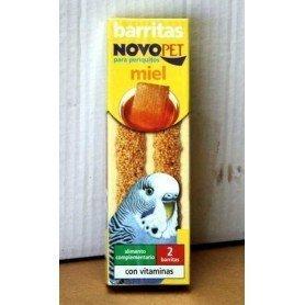 Barritas M. Huevo Periquitos 60g