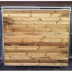 Panel de madera de 200 para boxes de perros