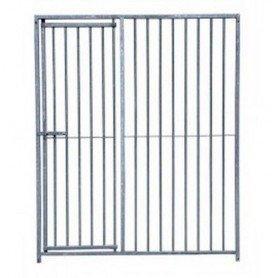 Frente de barras con puerta para perros 1500x1840