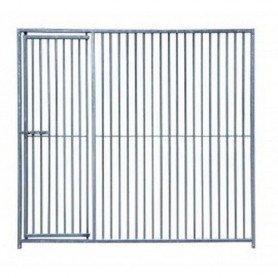 Frente de barras con puerta para boxes 2000x1840