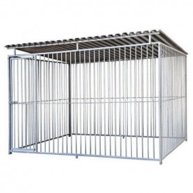 Boxican de barras 3x2 con tejado