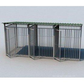 Boxican de barras 450x200 con tejado