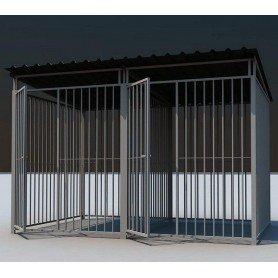 Boxican de barras 300x200 con tejado