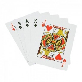 Juego de cartas gigantes