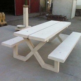 Mesa de picnic precal modelo Ainzón