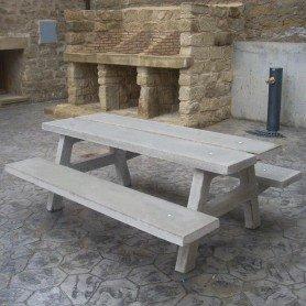Mesa de picnic Precal modelo Luna