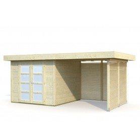 Caseta de madera Lara 6,0 + 5,9 m2