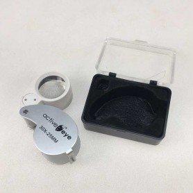 Active Eye Iluminated Magnifier Lupa 30x