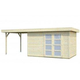 Caseta de madera Lara 8,4 + 5,9 m2
