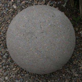 Bochas de piedra, replica de piedra 40 cm