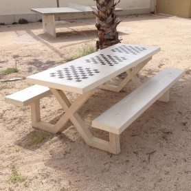 Mesa de picnic para Ajedrez