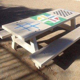 Mesa de picnic tres juegos