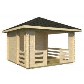 Pabellon de madera Palmako Julie 10,5 m2
