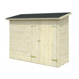 Cobertizo de madera Palmako Leif 2,2 m2