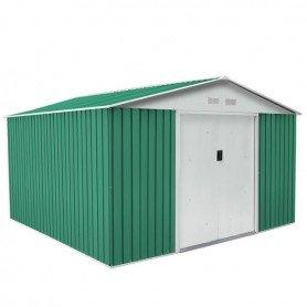 Caseta metálica Coventry verde 9.66 m2