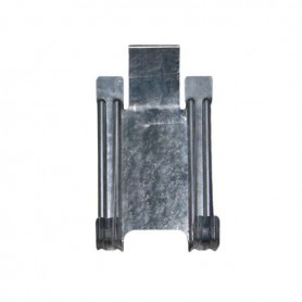 Set 4 ganchos cuelga herramientas acero zinc
