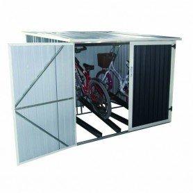 Caseta metálica para bicicletas Gardiun Veloc II 4,02m2