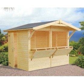Kiosco de madera Palmako Stella 5,0 m2