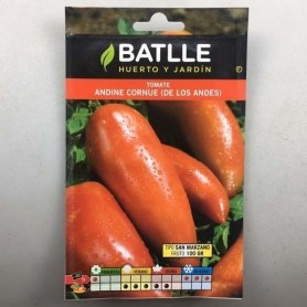Tomate Andina Cornue (san manzano) 0,30 g