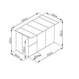 Jaula metalica Gardiun Laika 4,16 m2