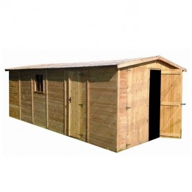 Garaje de madera Gardiun Mikhail II 18 m2