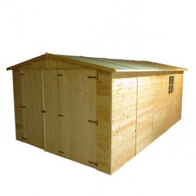 Garaje de madera Gardiun Mikhail I 15 m2