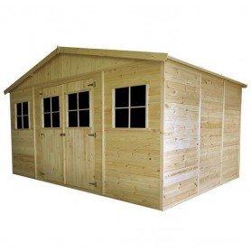 Cobertizo de madera Gardiun Vladimir 12 m2