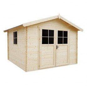 Cobertizo de madera Gardiun Petrov 9 m2