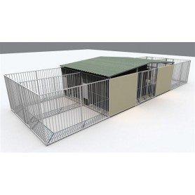 Residencia Canina modelo Alicante